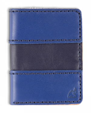 sport blue cartera portaplaca