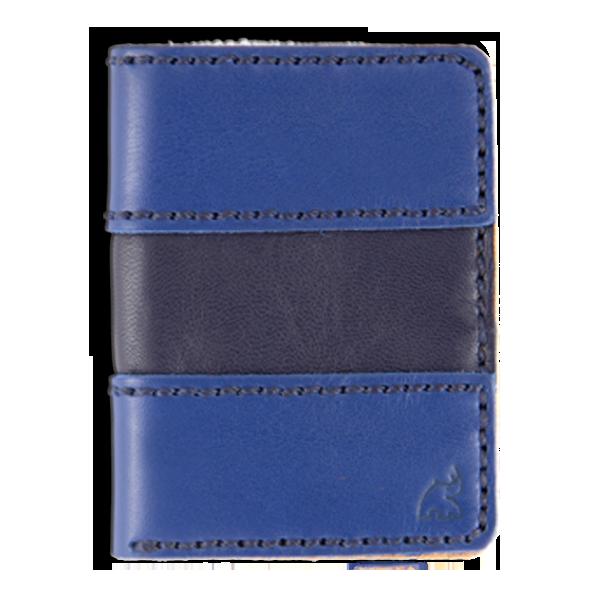 sport blue cartera portaplaca